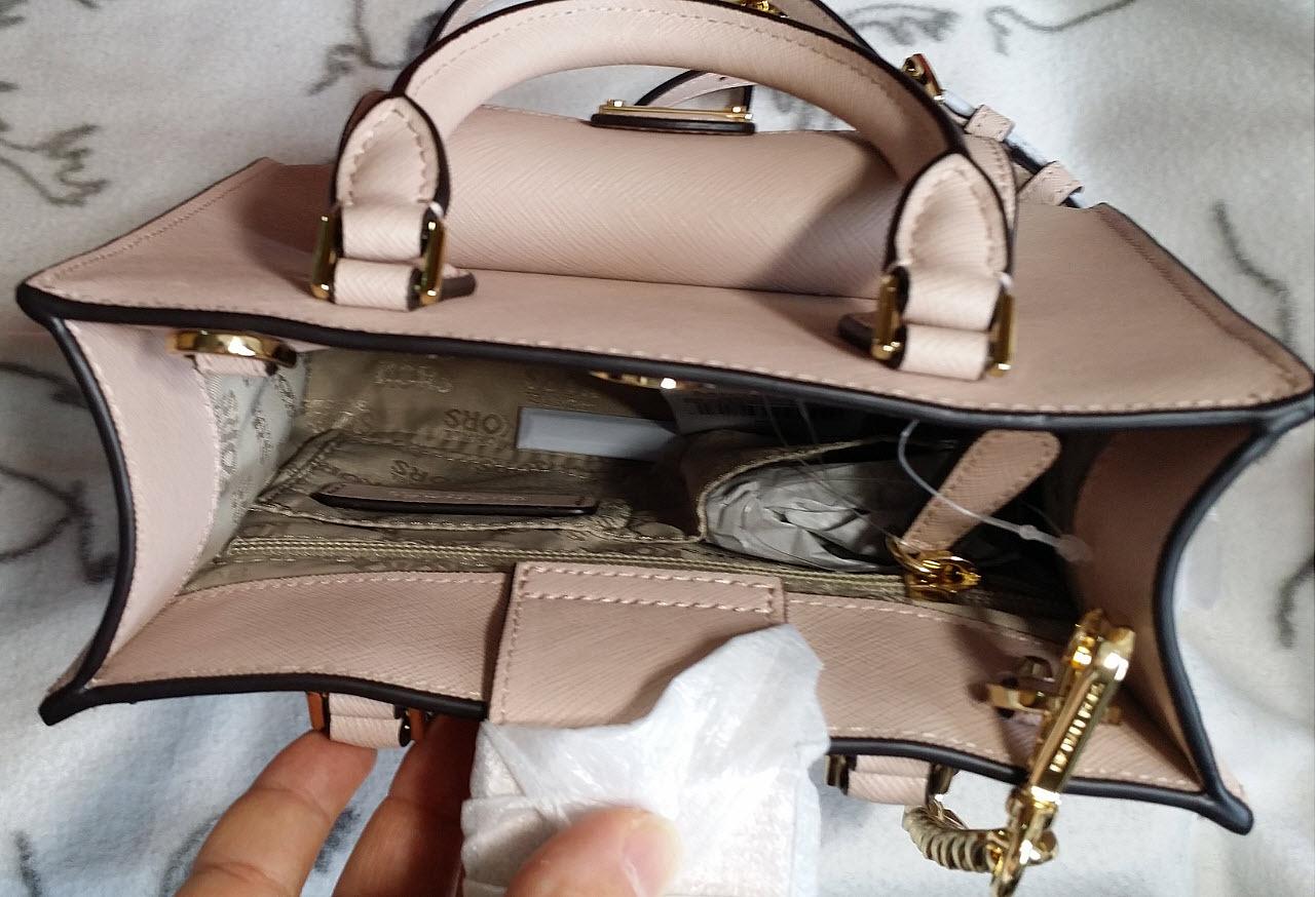 67bc886fc7c966 MICHAEL KORS Bridgette Small Crossbody satchel Leather various colors NWT