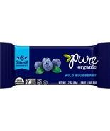Pure Organic Fruit & Nut Bar, Wild Blueberry, 1.7 Ounce - $51.14