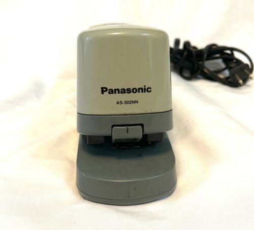 Panasonic AS-302NN Electric Stapler Heavy Duty  20 Sheet Grey Made in Japan