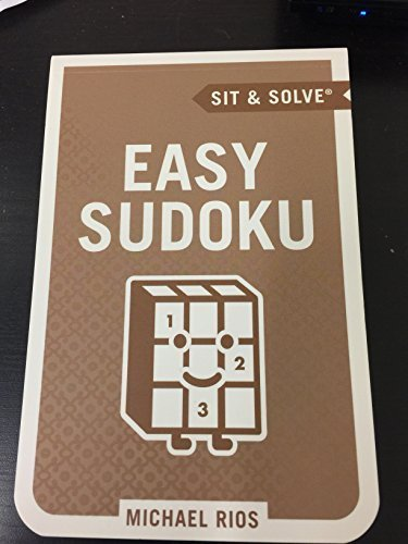 Sit and Solve Easy Sudoku By Michael Rios
