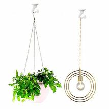 10 Sets Ceiling Hooks - Heavy Duty Swag Hook with Hardware for Hanging Plants Ce image 6