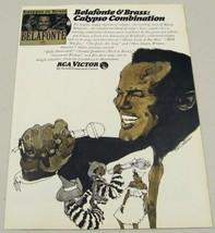1966 Print Ad Harry Belafonte RCA Victor Records Calypso - $9.89