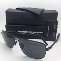 Neu Porsche Design Sonnenbrille P'8639 A 62-13 145 Black Piloten Rahmen mit /