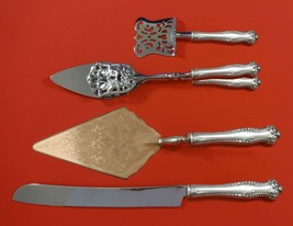Canterbury by Towle Sterling Silver Dessert Serving Set 4pc Custom Made - $389.00