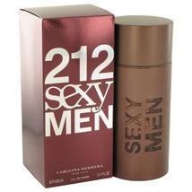 212 Sexy by Carolina Herrera Eau De Toilette Spray 3.3 oz for Men - $67.15