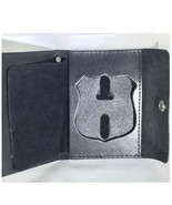New York City Police Officer Shield  Cut-Out & ID Card Snap Wallet