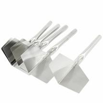 Stainless Steel 5pcs Outdoor Trowels Metal Handle Drywall Outside Corner... - $11.29