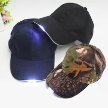 Light Up LED Sport Hat Baseball Caps Luminous - $28.99