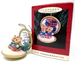 Hallmark Keepsake Ornament Sisters Are Forever Friends 1993 Handcrafted ... - $9.49