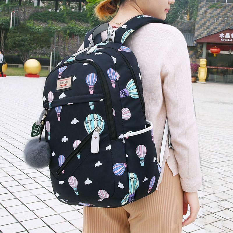 Women Backpack Travel Anti Theft Design Large Capacity Teenage Girl School Bags