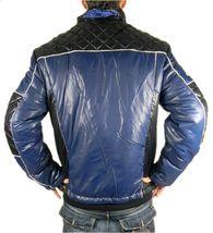 Ed Hardy By Christian Audigier Men's Premium Puffer Nylon Jacket Blue size XL image 4