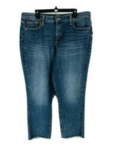 Universal Thread Women's Blue High Rise Straight Jeans Size 16 Inseam 27... - $17.82