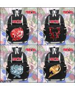 Anime Fairy Tail canvas zipper Backpack school bag Rucksack shoulder bag... - $62.50