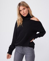 NWT Paige Raundi Sweater Black Size XL $258 Defect - $68.26