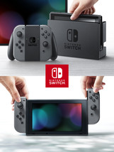Nintendo Switch Console with Gray Joy-Con, HACSKAAAA - $438.53