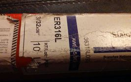 """Inweld ER316L 3/32"""" x 36"""" Stainless Steel Welding Wire, 10 Pounds image 3"""