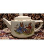 Royal Doulton Bunnykins Casino Teapot Daisy Chain - $168.30