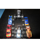 Monster Jam Trucks Mohawk Warrior Hot Wheels Hurricane Force Monster Mut... - $19.59