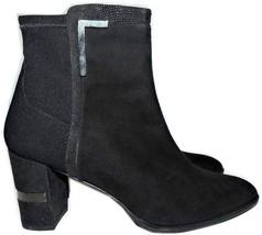 $575 Stuart Weitzman Boots Shorty Lizard Trim  Ankle Booties Shoes 10 - $167.91