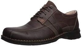 Clarks Men's ESPACE Shoe, brown oily leather, 090 W US - $50.99