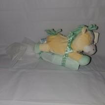 Kids Preferred Jingle Bell Blanket Buddies Giraffe Rattle Green Blanket New - $29.65