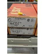 500 Pack 12-10 Gauge Vinyl ring Crimp Terminals #10 5mm Stud RBV5.5-5   ... - $44.55
