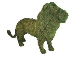 """Lion 37"""" Moss Topiary Sculpture - $231.66"""