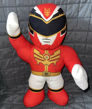 "Power Rangers MegaForce 15"" Inch Talking Action Figure Plush Red Ranger Doll Toy - $14.99"