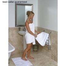 Heated Towel Rail Bathroom Bath Towel Warmer Electric Rack Small Wall Ra... - $150.65