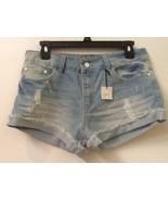 Forever 21 NWT distressed cutoff light wash denim shorts - Size 29 New - $13.95