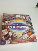The Best of TV & Movies Trivia Board Game New and Sealed Television  - $41.16