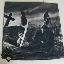 World Market Monster Movie Classic Dracula Nosferatu Halloween Pillow Cover - $17.81