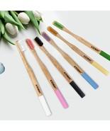 AZDENT® 4PCS/pack Bamboo Toothbrush Nano Antibacterial Bristles Double U... - $7.34
