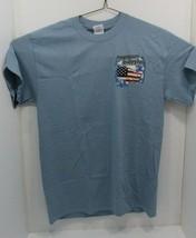 As Bin1Gildan One Nation Under God T-Shirt Size Medium 100% Cotton - $13.85