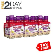 SlimFast Advanced Nutrition Vanilla Cream Shake Meal Replacement 12 Count - $34.99