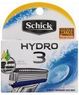 Schick Hydro 3 - 4 Cartridges - $7.95