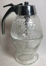 Vintage 70's Glass Honey Or Syrup Dispenser Taiwan - $8.50