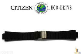 Citizen Ca0448-08e Caoutchouc Noir Bracelet de Montre W/Boucle Déployante - $98.74