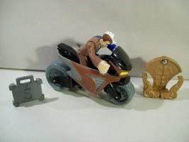 IMAGINEXT DC SUPER FRIENDS BATMAN TWO FACE ACTION FIGURE MOTORCYCLE 2009 - $12.69