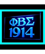 150080B PHI BETA SIGMA 1914 Greek Words professional Display LED Light Sign - $18.00