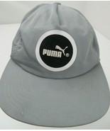 Puma Brand Grey Black White Snapback Adult Cap Hat - $12.86