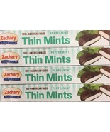 ZACHARY PEPPERMINT THIN MINTS 5.5 OZ. (4 Pack) Fast Free Shipping ! - $12.99