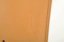 HERMES Evelyn GM Shoulder Bag Leather Brown Auth 9208 image 3