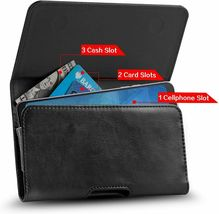 J&D Holster Compatible for Samsung, Synthetic Leather, Black image 3