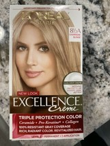 New Loreal Paris Excellence Creme 8 1/2A  Champagne Blonde Level 3 Perma... - $14.84