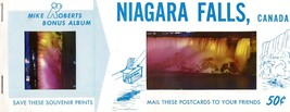 Niagara Falls Canada Mike Robert Bonus Album Kodak Unique Postcard Book - $7.99