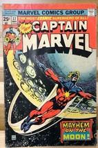 CAPTAIN MARVEL #37 (1975) Marvel Comics VG/VG+ - $9.89