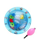 SubClap Inflatable Water Play Mat-Infant & Toddlers Tummy Time Floating ... - $12.72