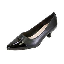 PEERAGE Arlene Women Wide Width Casual Comfort Mid Heel Leather Shoes  - $58.45