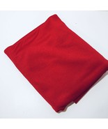 "2.5 Yards Red Two-Way Knit Fabric 64"" wide Slinky Polyester - $14.50"